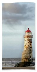 Lighthouse Revisited Bath Towel