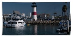 Lighthouse Hand Towel by Rod Wiens