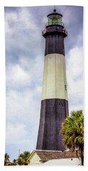 Lighthouse - Tybee Island, Georgia Hand Towel