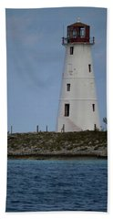 Lighthouse Watch Bath Towel