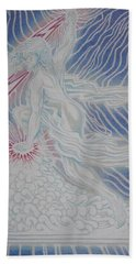 Lightning Goddess Hand Towel