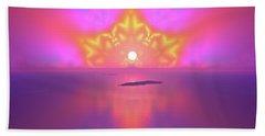 Bath Towel featuring the digital art Lightscape 25 by Robert Thalmeier