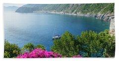 Ligurian Sea, Italy Hand Towel