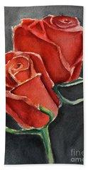 Like A Rose Hand Towel