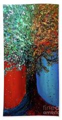 Like The Changes Of The Seasons Bath Towel by Ania M Milo