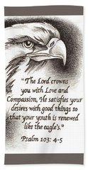 Like The Eagle Hand Towel