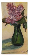 Lilac Reflections Hand Towel