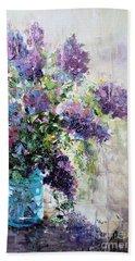 Lilacs Hand Towel