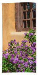 Lilacs And Adobe Bath Towel by Catherine Sherman