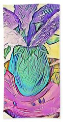 Lilacs Bath Towel