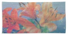 Lilies #1 Hand Towel