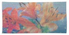 Lilies #1 Bath Towel