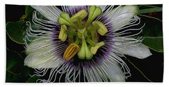 Lilikoi Passion Fruit Bath Towel by Pamela Walton