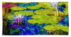 Hand Towel featuring the photograph Lilly by Paul Wear