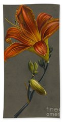 Lily Hand Towel by Louise D'Orleans