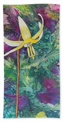 Lily Hand Towel by Nancy Jolley