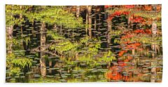 Lily Pad Abstract II Hand Towel