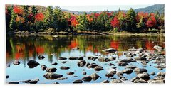 Lily Pond - Kancamagus Highway - New Hampshire Hand Towel