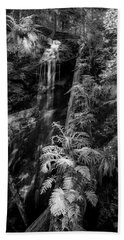 Limited And Restricted Bath Towel by Jon Glaser