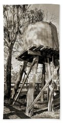 Hand Towel featuring the photograph Limited Water Supply by Linda Lees