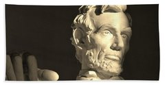 Lincoln At Sunrise Hand Towel