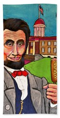 Lincoln At The Capitol Hand Towel