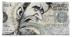 Lincoln Barfs Bath Towel