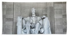 Lincoln Memorial Hand Towel