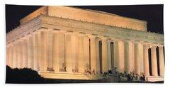 Lincoln Memorial Bath Towel