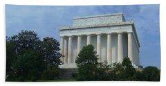 Lincoln Memorial, Dc Bath Towel