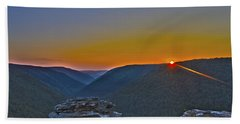 Lindy Point Sunset Hand Towel