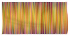 Hand Towel featuring the digital art Lines 102 by Bruce Stanfield