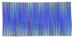 Hand Towel featuring the digital art Lines 103 by Bruce Stanfield