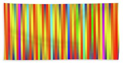 Hand Towel featuring the digital art Lines 17 by Bruce Stanfield