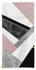 Lines And Layers Bath Towel