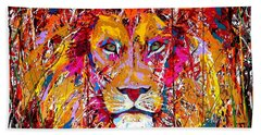 Lion 4 Hand Towel