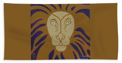 Lion Hand Towel