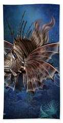 Lion Fish Hand Towel