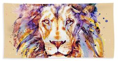 Lion Head Bath Towel