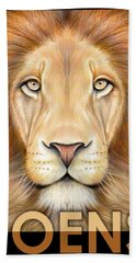Lion Joens Bath Towel