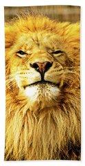 Lion King 1 Hand Towel by Ayasha Loya