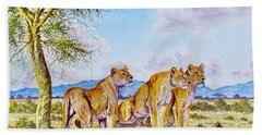Lion Pack Bath Towel
