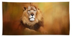 Lion - Pride Of Africa I - Tribute To Cecil Hand Towel