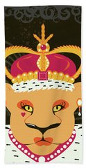 Lioness Queen Hand Towel