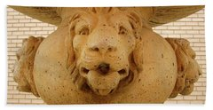 Lions All Around Hand Towel by Mary Ellen Frazee