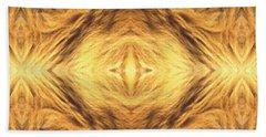 Lion's Eye Hand Towel by Maria Watt