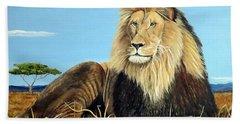 Lions Pride Hand Towel