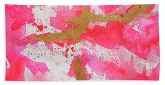 Lipstick Pink Hand Towel