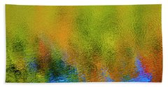 Hand Towel featuring the photograph Liquid Light by Gary Hall