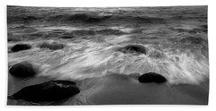 Liquid Veil Hand Towel by Edgar Laureano